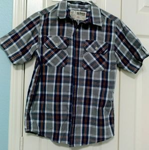 A boy short sleeve shirt in nice used condition